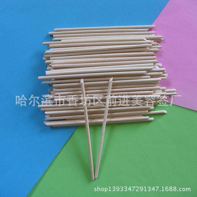 厂家直销桦木制工艺木签 木棒 精通 钻孔 开槽 磨尖等工艺