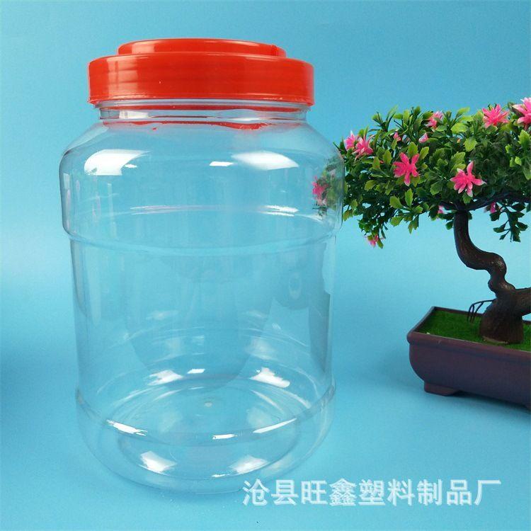 热销PET食品级透明塑料瓶 酒桶酒壶 食用油桶油壶量大从优
