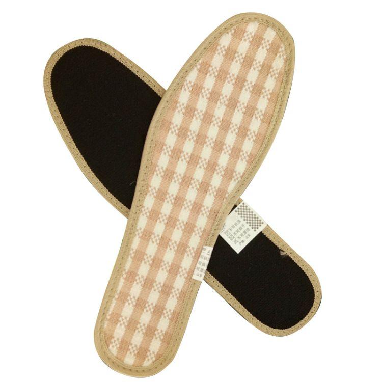 竹纤维竹炭鞋垫 吸附异味除臭吸汗 厂家直销批发 绿色粉色