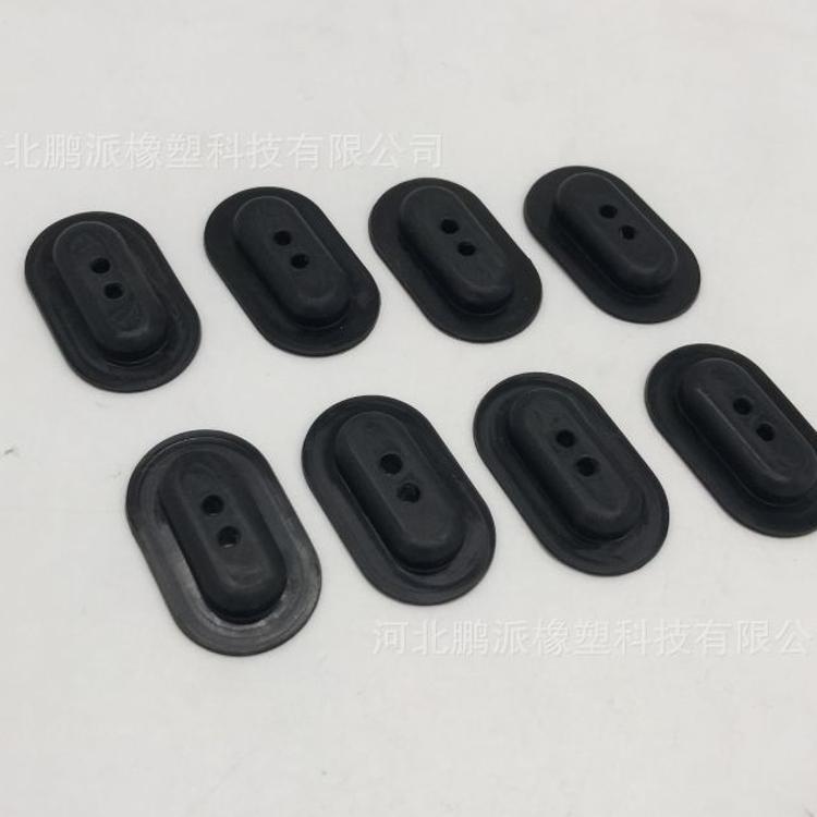 鹏派橡塑生产加工   橡胶制品    模压件   橡胶杂件定制 橡胶块 橡胶块板 80x60橡胶块 铁路橡胶块