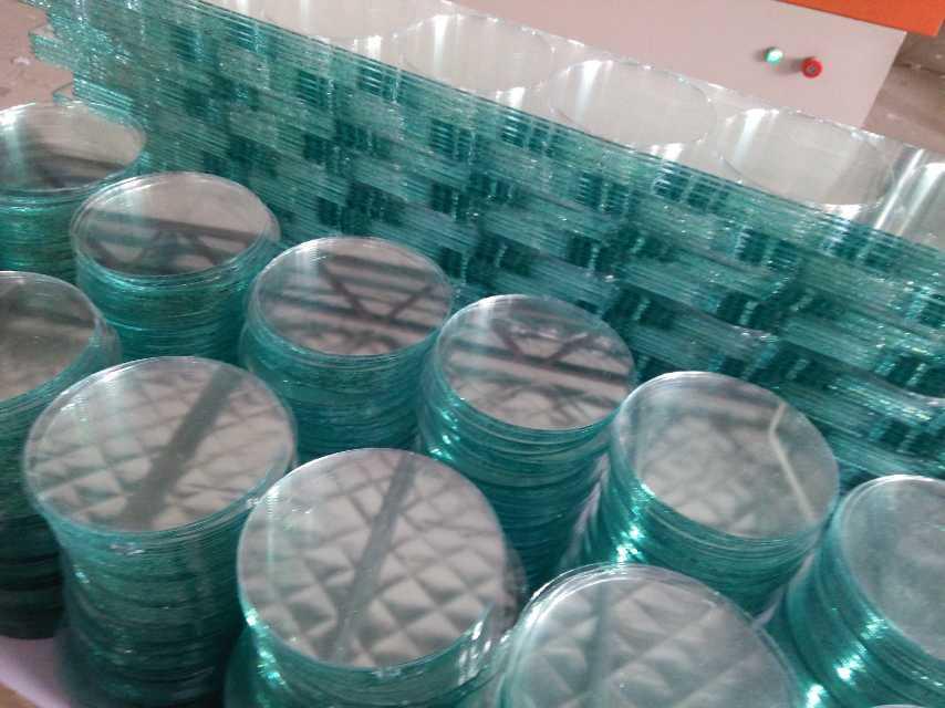10mm-500mm圆形玻璃片 圆形钢化玻璃片