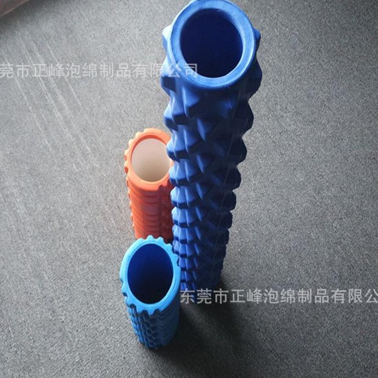 批发EVA瑜伽柱 高密度空心瑜伽柱 PU瑜伽棒 来样来图订做