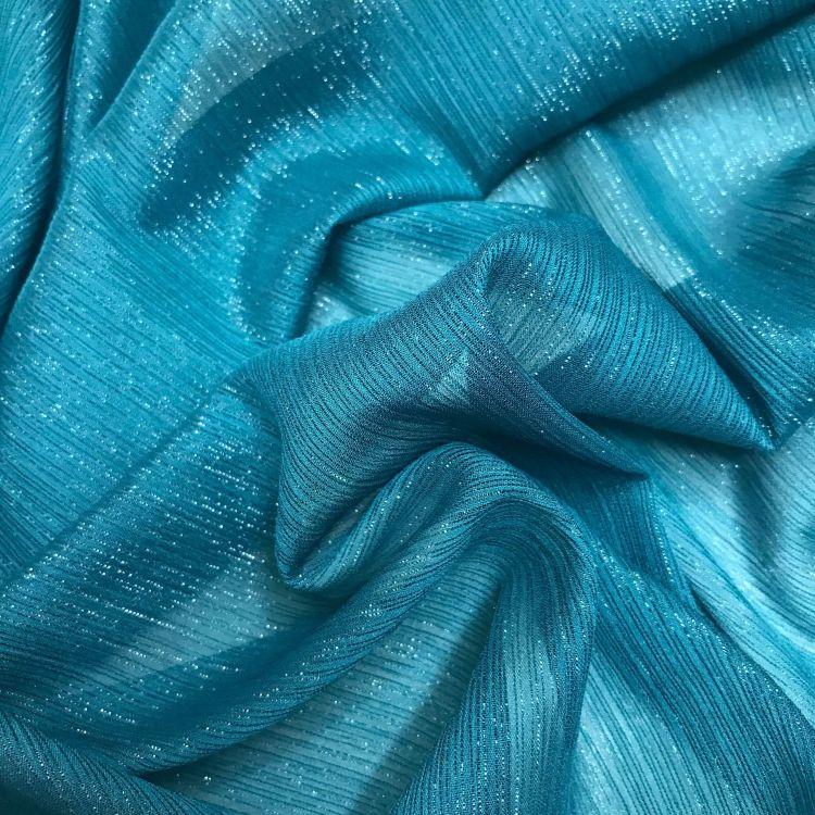供应银丝雪纺绉面料 闪光亮丝雪纺布 银丝时装裙礼服舞台装饰布