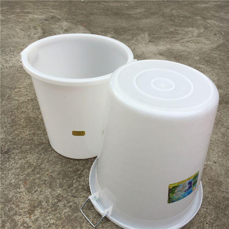 100升大白桶 塑料桶 户外垃圾桶 水桶 塑料水桶