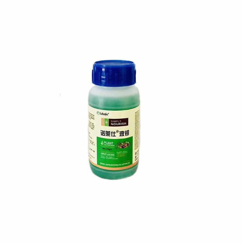 叶面肥水溶性肥料诺莱仕液钼200ml可混合使用液体钼肥水溶肥