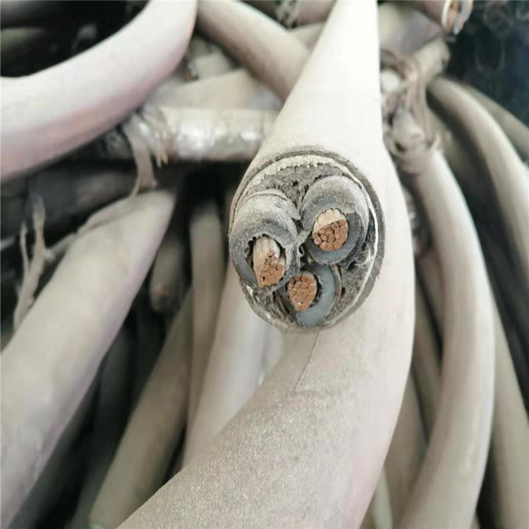莱阳市电力电缆回收 低压动力电缆回收 国标铜芯电线电缆回收