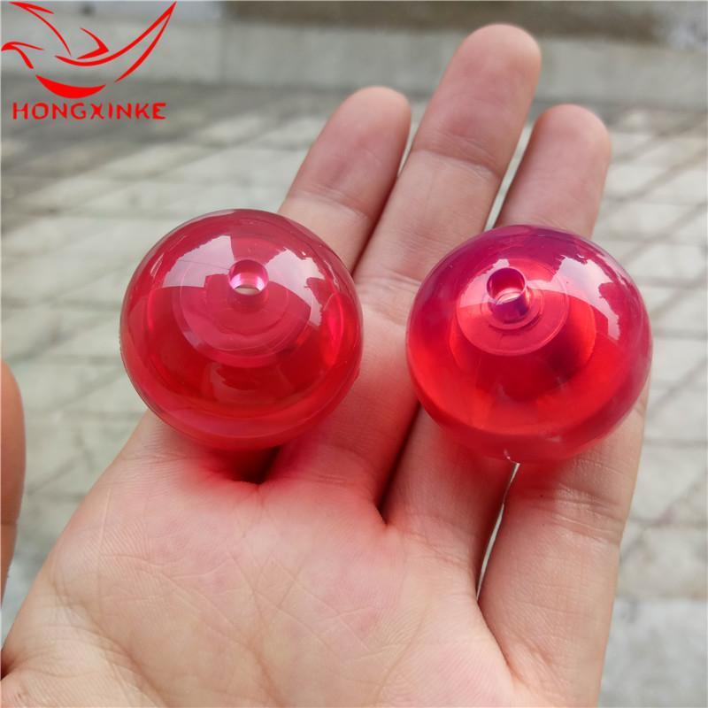 鸿芯科悠悠球配件 厂家批发塑料发光溜溜球透明塑料壳体