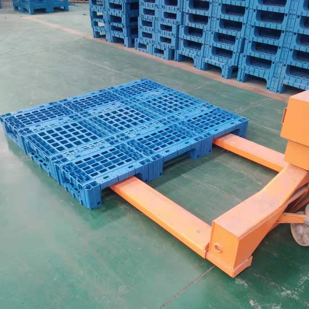 现货速发大地台板 仓储物流特大塑料托盘 1.6米1.4米大个防潮地台板