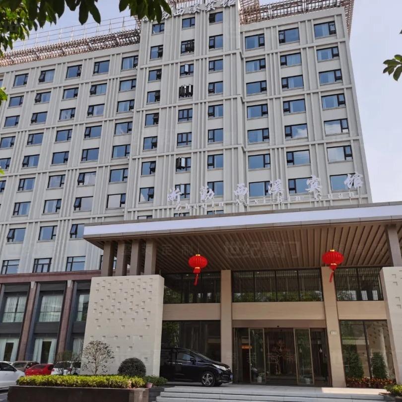 世紀豪門酒店包間集成墻板裝修效果圖 酒店婚禮墻板設計 酒店竹木纖維墻板