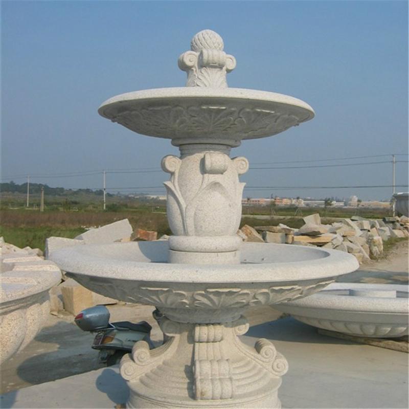 弘正雕塑石頭噴泉戶外園林雕塑廠家直銷