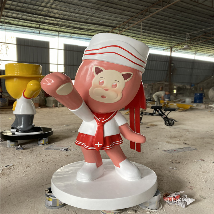 廣州玻璃鋼可樂罐子雕塑 宣傳瓶子雕塑擺件 益豐雕塑