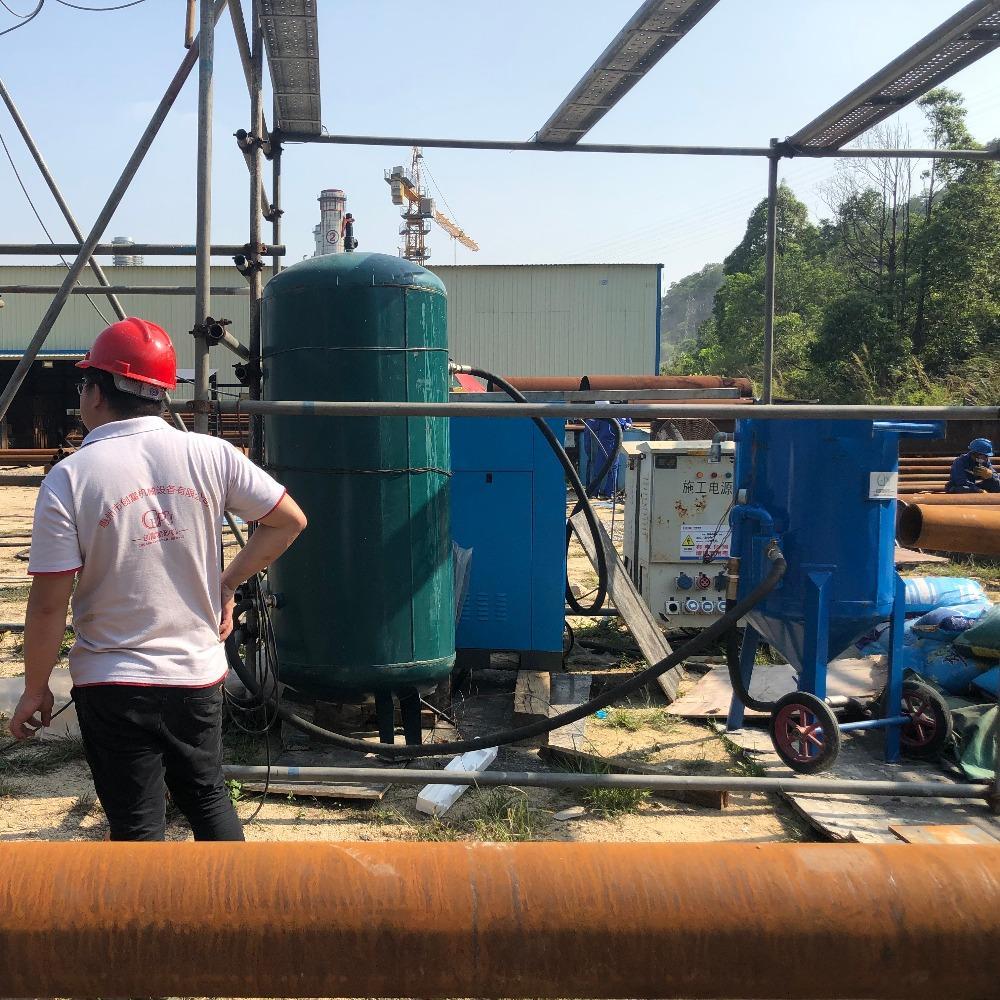 移動除銹噴砂機-創富供應小型噴砂除銹機-除銹噴砂機廠家