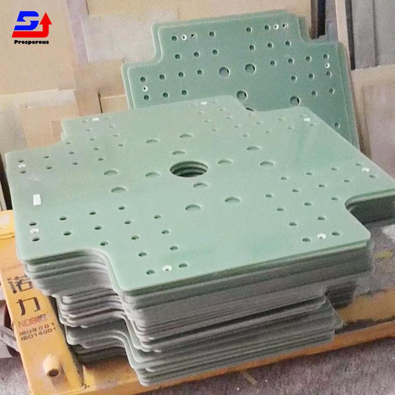信達耐高溫隔熱板纖維板 絕緣板 FR-4支撐板綠色玻纖板環氧板墊片雕刻