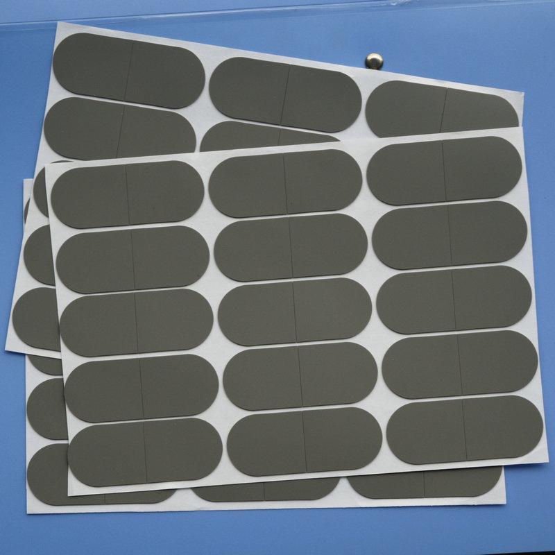 安思誠東莞廠家生產硅膠墊片硅膠密封圈灰色客訂防滑減震